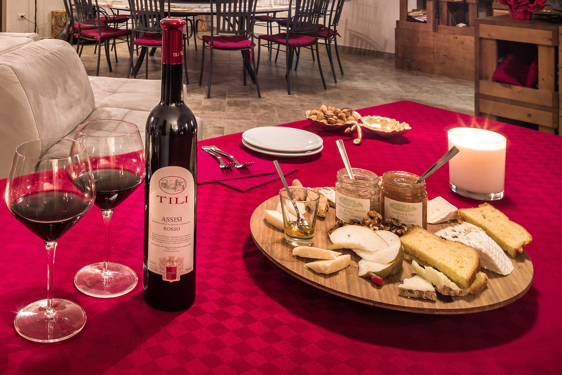 Degustazioni Assisi Tili Vini - Vini e Formaggi