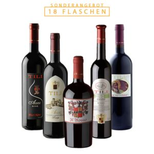 Tili Vini Assisi - Maxi Box Rotwein